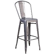 Flash Furniture Indoor Bar Stool Gray