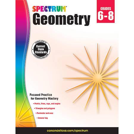 Spectrum® Geometry Workbook, Grades 6-8 Item # 529118