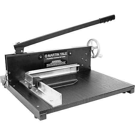 Martin Yale Commercial Paper Cutter, Black