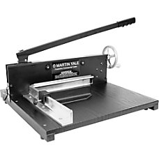 Martin Yale Commercial Paper Cutter Black