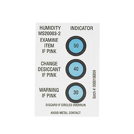 "Partners Brand 30-40-50% Humidity Indicators 2"" x 3"", Case of 125"
