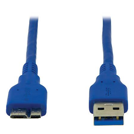 Ativa® USB 3.0 Cable, 3', Blue, 27517