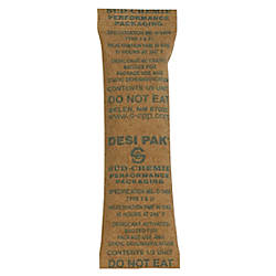 Partners Brand Kraft Clay Desiccant Bags