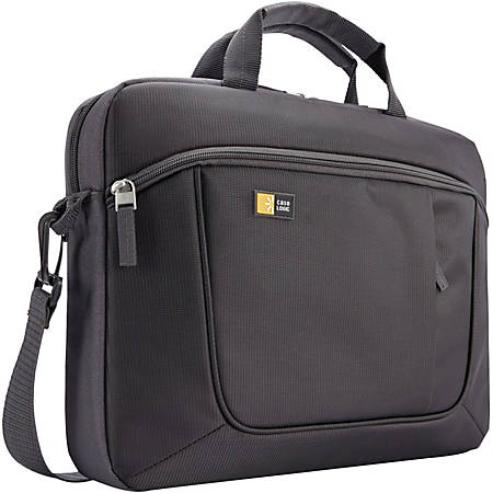 """Case Logic Carrying Case for 14.1"""" Notebook - Anthracite"""