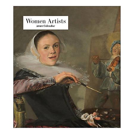 "Retrospect Women Artist Monthly Desk Calendar, 6-1/4"" x 5-1/2"", January To December 2020, YCD 074-20"