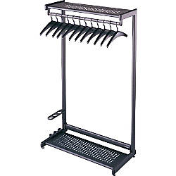 Quartet Garment Rack With Hangers 8