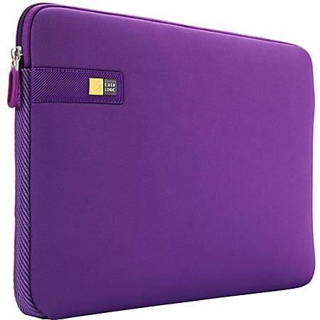 "Case Logic® Laptop Sleeve, 13.3"", Purple, LAPS-113"
