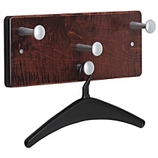 Quartet 4 Hook Wall Garment Rack