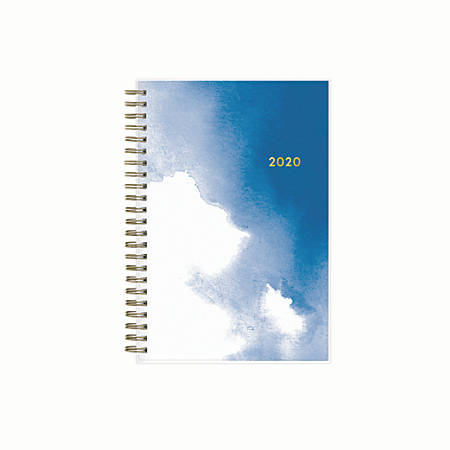 """Blue Sky™ Weekly/Monthly Planner, 5"""" x 8"""", Essence, January to December 2020"""
