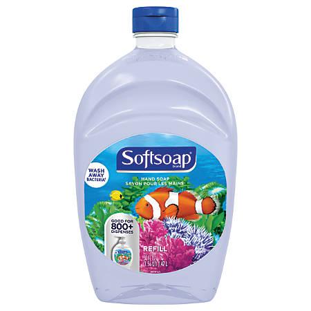 Softsoap® Aquarium Liquid Hand Soap Refill, 50-Oz Bottle