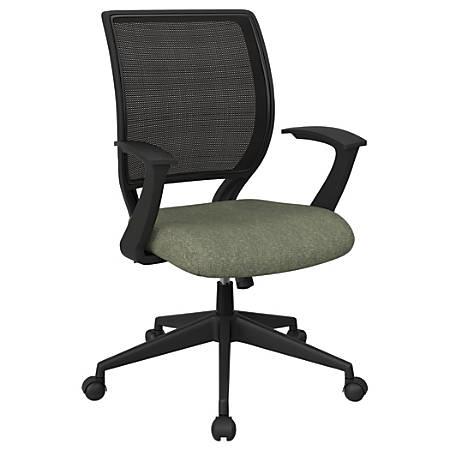 Office Star™ Work Smart Mesh Task Chair, Sage/Black