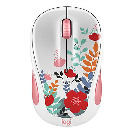Logitech® M325C Wireless Mouse, Summer Bouquet