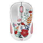Logitech® M325C Collection Wireless Optical Mouse, Summer Bouquet, 910-005656