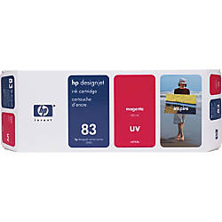 HP 83 Magenta Ink Cartridge C4942A
