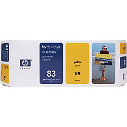 HP 83 Yellow Ink Cartridge C4943A