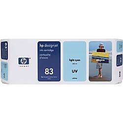 HP 83 Light Cyan Ink Cartridge