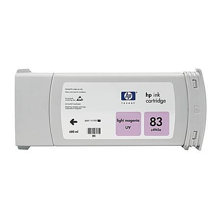 HP 83, Light Magenta Ink Cartridge (C4945A)