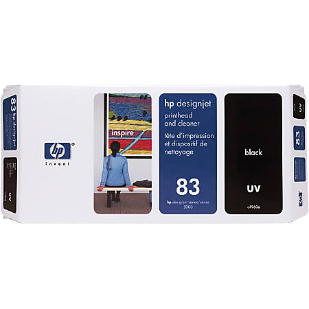 HP 83, Black Printhead (C4960A)