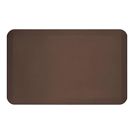 "GelPro NewLife EcoPro Commercial Grade Anti-Fatigue Floor Mat, 32"" x 20"", Brown"
