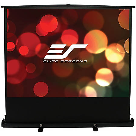 Elite Screens ezCinema Plus Series - 100-INCH 4:3, Manual Pull Up, Movie Home Theater 8K / 4K Ultra HD 3D Ready, 2-YEAR WARRANTY, F100XWV1""