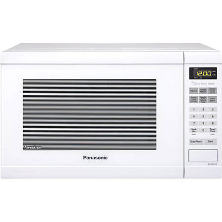 Panasonic 1.2 Cu Ft Microwave, White