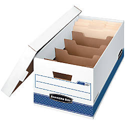 Bankers Box StorFile Storage Boxes With