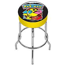 Arcade1Up Pac Man Adjustable Stool BlackYellow