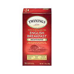 Twinings English Breakfast Decaffeinated Tea Bags