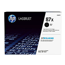 HP 87X High Yield Black Toner