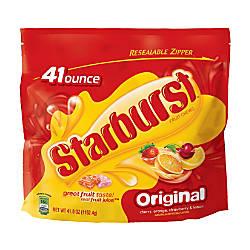 Starburst Fruit Chews 41 Oz Bag