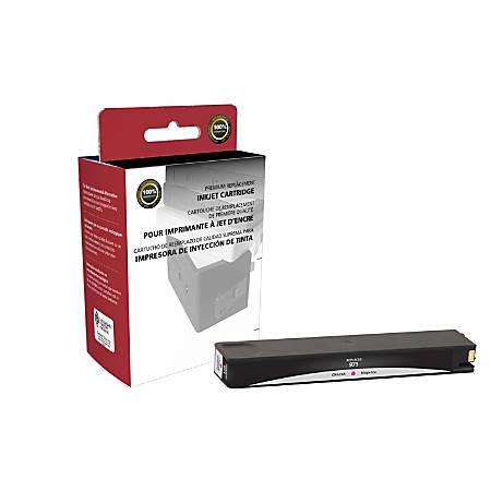 Clover Imaging Group 118097 Remanufactured Ink Cartridge Replacement For HP 971 Magenta