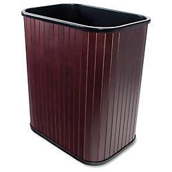 Carver Wood Rectangular Waste Basket 425