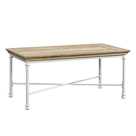 Sauder® Canal Street Coffee Table, Coastal Oak/White