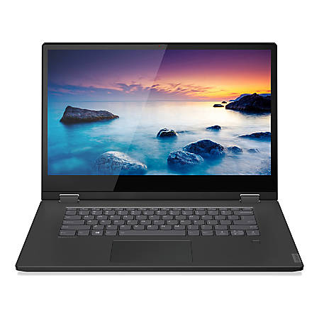 "Lenovo™ Flex 15 Laptop, 15.6"" Touch Screen, Intel® Core™ i5, 8GB Memory, 256GB Solid State Drive, Windows 10 Home, 81SR0000US"