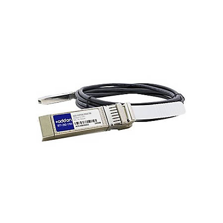 AddOn HP J9285B to Intel XDACBL7M Compatible TAA Compliant 10GBase-CU SFP+ to SFP+ Direct Attach Cable (Passive Twinax, 7m) - 100% application tested and guaranteed to work