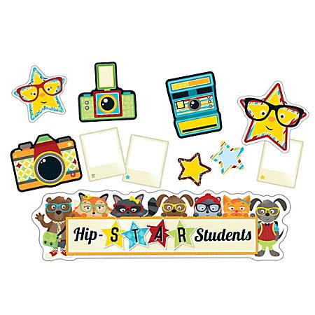 Carson-Dellosa Hipster Hip-STAR Students Mini Bulletin Board Set, Multicolor, Grades K-5