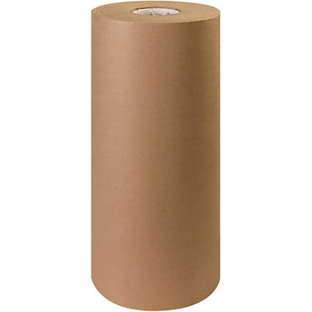 "Office Depot® Brand Kraft Paper Roll, 60 Lb, 20"" x 600', 100% Recycled, Kraft"