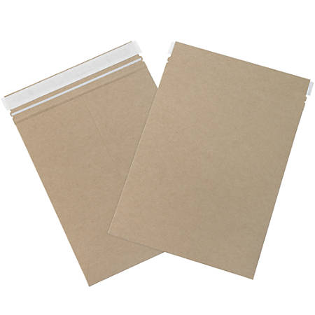 "Partners Brand Kraft Utility Flat Mailers 8 1/2"" x 11"", Pack of 250"