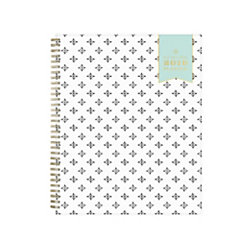 """Day Designer® for Blue Sky Weekly/Monthly Planner, 11"""" x 8 1/2"""", Daily Daisy, January to December 2019"""