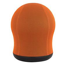 Safco Zenergy Swivel Ball Chair Orange