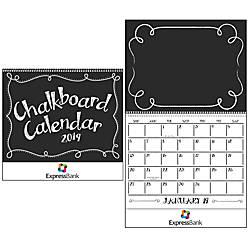 Chalkboard Calendar 19 x 11 January