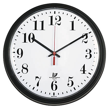 Chicago Lighthouse 13 34 Quartz Contract Wall Clock By