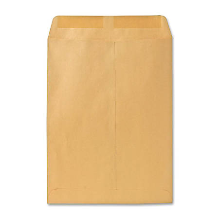 "Quality Park Catalog Envelopes With Gummed Closure, 10"" x 13"", Brown, Box Of 250"