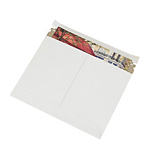 Partners Brand White Utility Flat Mailers