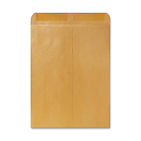 """Quality Park® Catalog Envelopes With Gummed Closure, 12"""" x 15 1/2"""", Brown, Box Of 250"""
