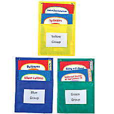 Carson Dellosa Pocket Charts Center Organizer