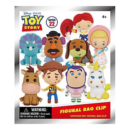 Disney Toy Story Classic 3-D Bag Clip, Assorted Colors