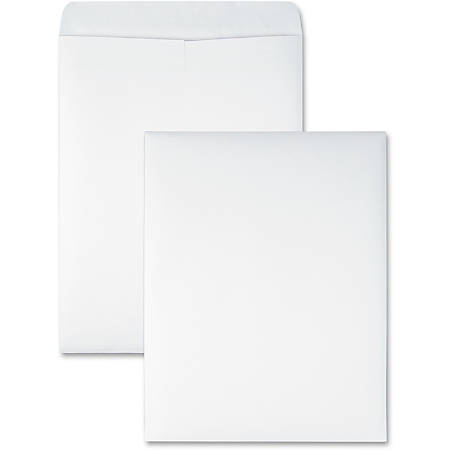 "Quality Park® Redi-Seal® Catalog Envelopes, 10"" x 13"", White, Box Of 100"