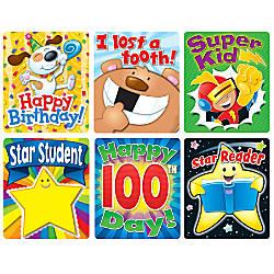 Carson Dellosa Braggin Badge Reward Sticker