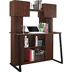 Altra Wood Computer Desk With Hutch